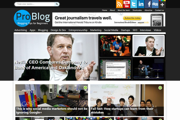ProBlog Professional Blogging Theme