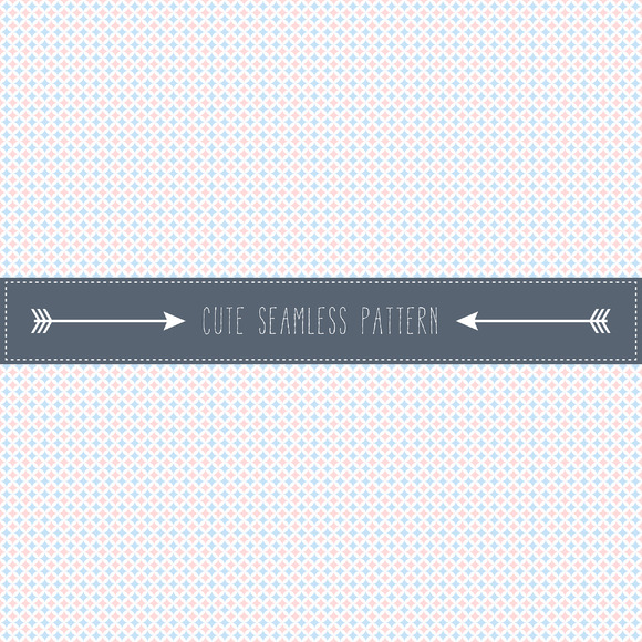 Simple Retro Seamless Pattern