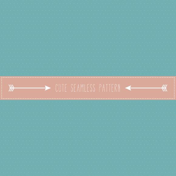 Retro Fine Polka Dot Seamless Patter