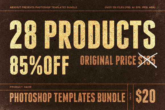 Photoshop Templates Bundle