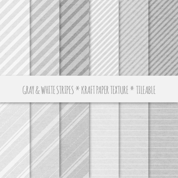 Gray Stripes Seamless Patterns