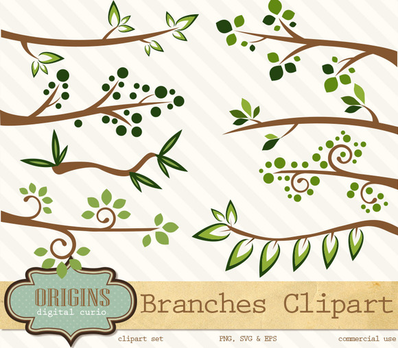 Tree Branches Clipart