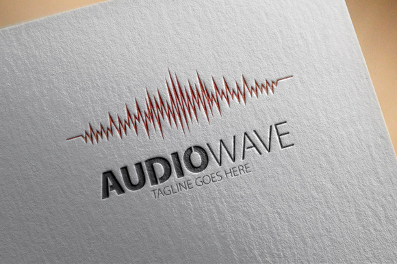 Audio Wave Logo