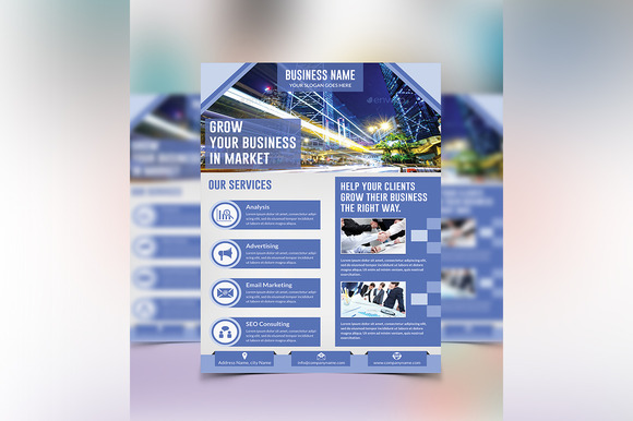 Corporate Flyer Template Vol 01