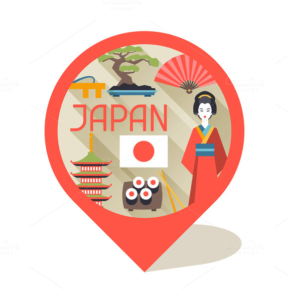 Japan Backgrounds Design