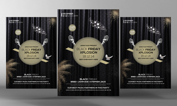 Black Friday Party Template