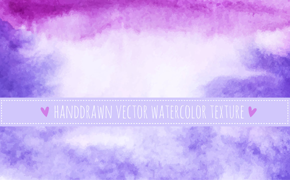 Watercolor Purple Texture