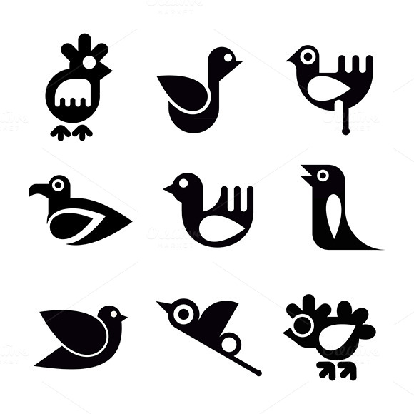 The Bird Icon Set