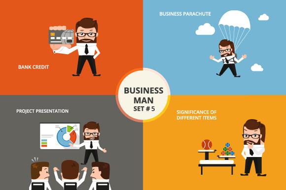 Businessman Set #5