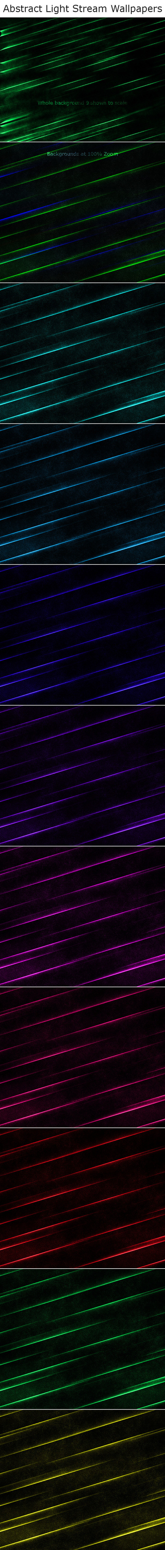 Abstract Light Stream Wallpapers