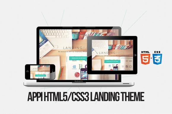 Appi Landing Theme