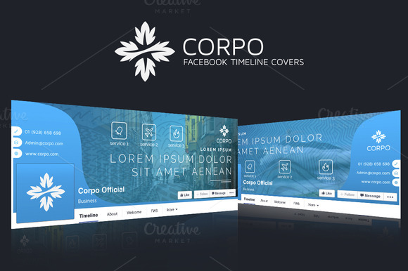 CORPO Facebook Timeline Covers