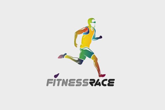 Fitness Race Logo