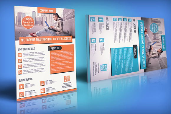 Corporate Flyer Template 03