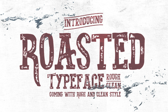 Roasted Typeface