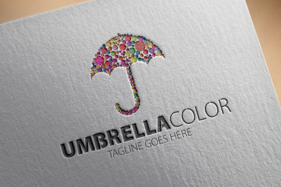 Umbrella Color Logo