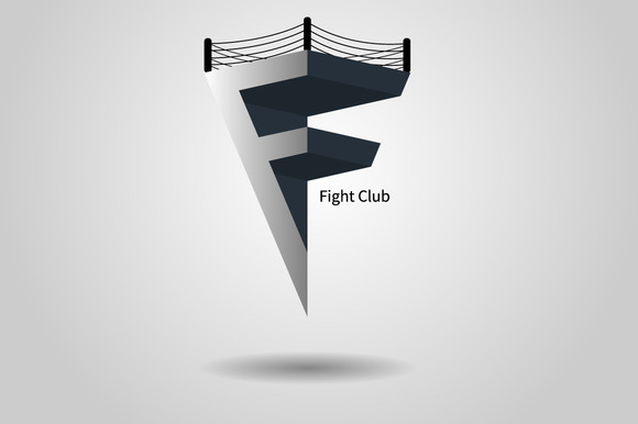 Logo Letter F For Your Fight Club