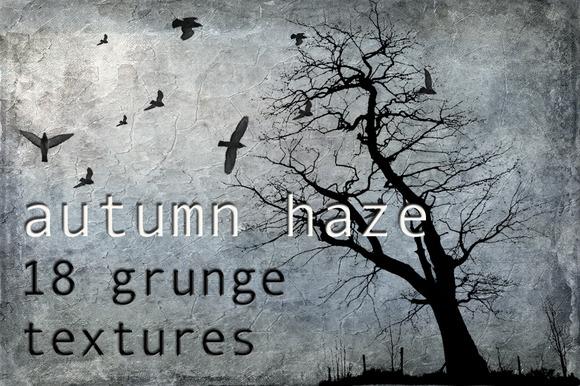 Autumn Haze Grunge Textures