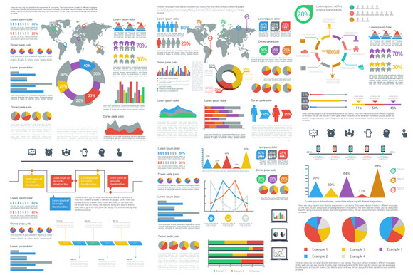 Free templates for creating infographics