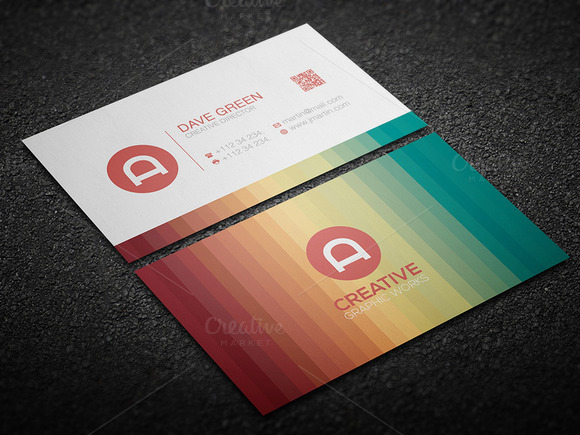 3 In 1 Clean Business Card