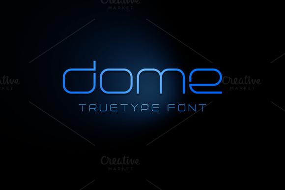 Dome TrueType Font