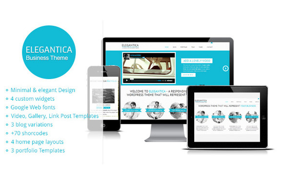 Elegantica Business HTML Template