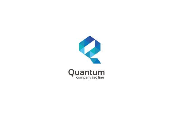 Quantum Q Letter Logo