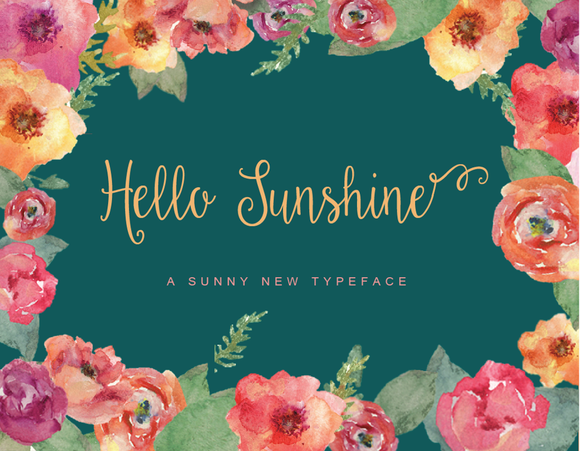 Hello Sunshine Script
