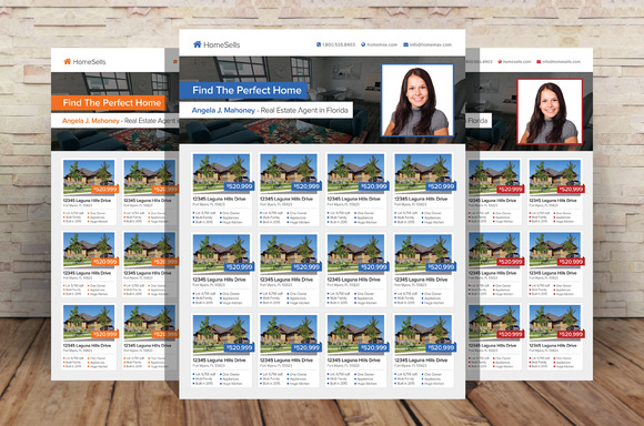Real Estate Listings Flyer