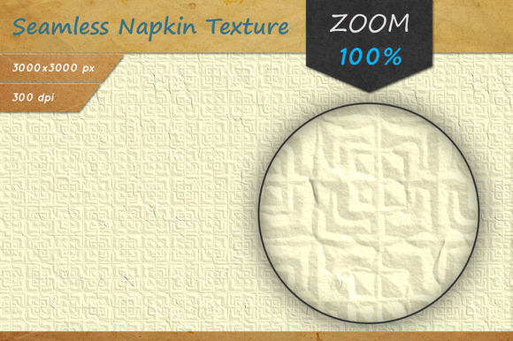 Paper Napkin Seamless HD Texture