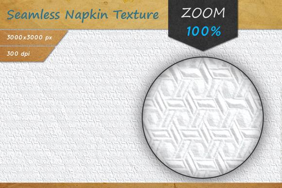 Paper Napkin Seamless HD Texture