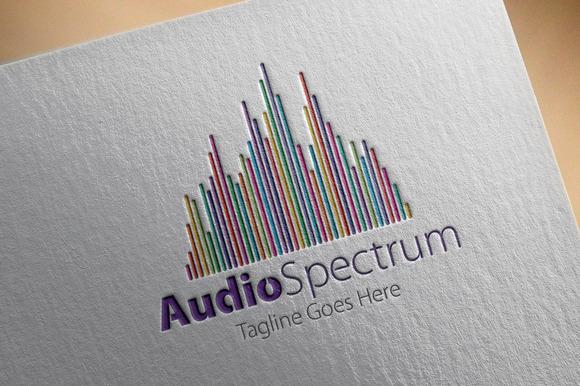 Audio Spectrum Logo