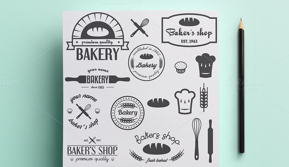 Collection Of Bakery Logo