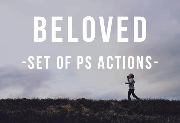 Beloved Set Of Photoshop Actions