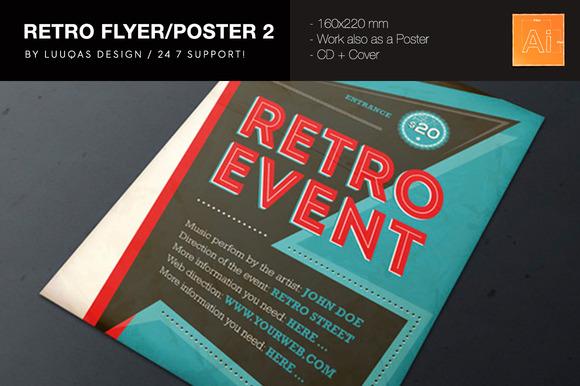 Retro Flyer Poster 2