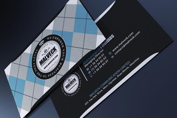 Argyle Business Card