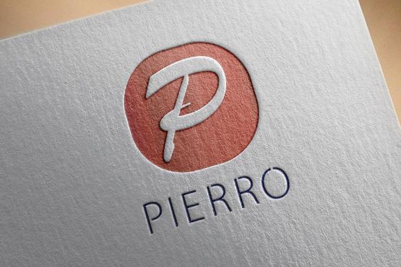 Pierro P Letter Logo