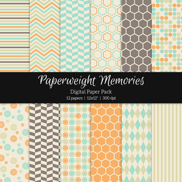 Patterned Paper Yearbook