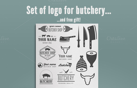 Collection Of Butchery Logo