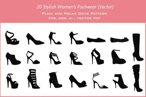 20 Women S Footwear