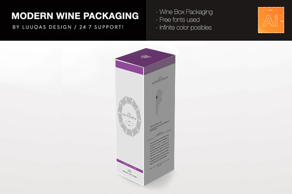 Wine Modern Packaging