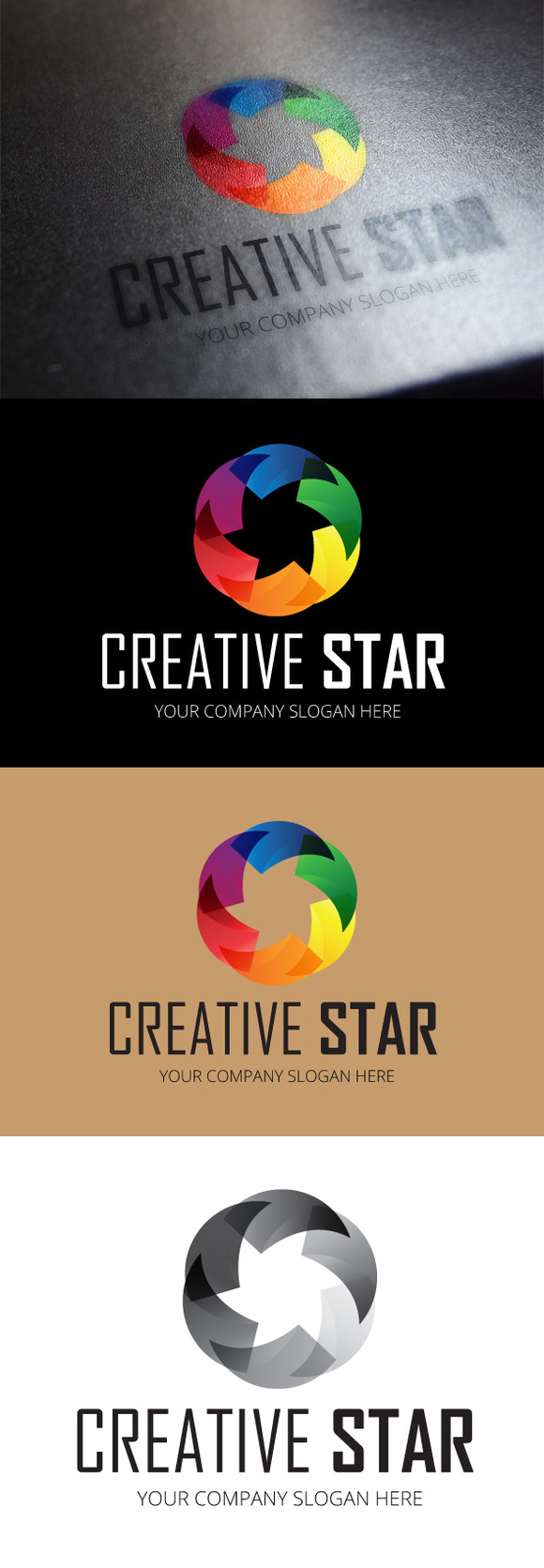 Creative Star Logo Template