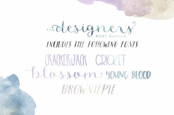 Designer Font Bundle