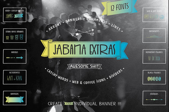 Jabana Extras Complete Pack