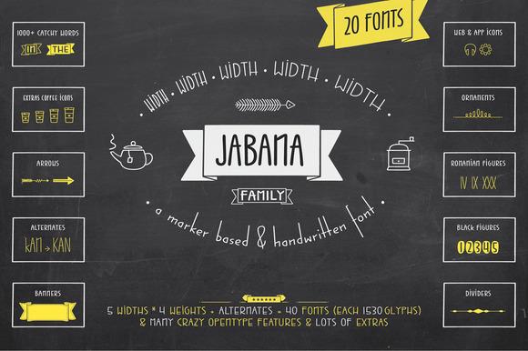 Jabana Complete Pack