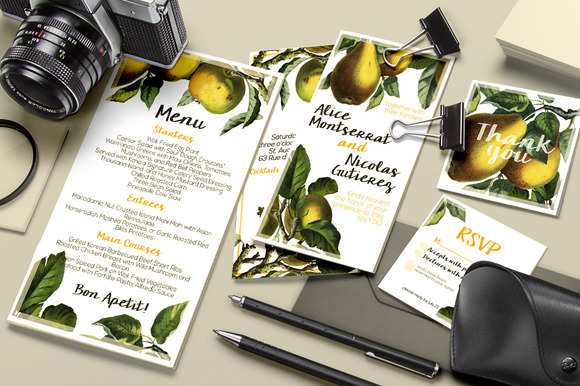 Botanical Wedding Suite Vol 1