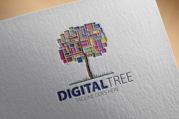 Digital Tree Logo