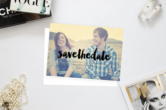 I Love You So Wedding Save The Date