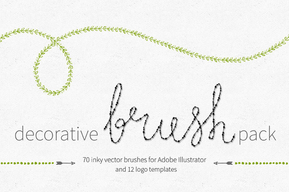 Decorative Brush Pack