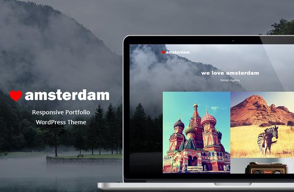Amsterdam Responsive Portfolio WP